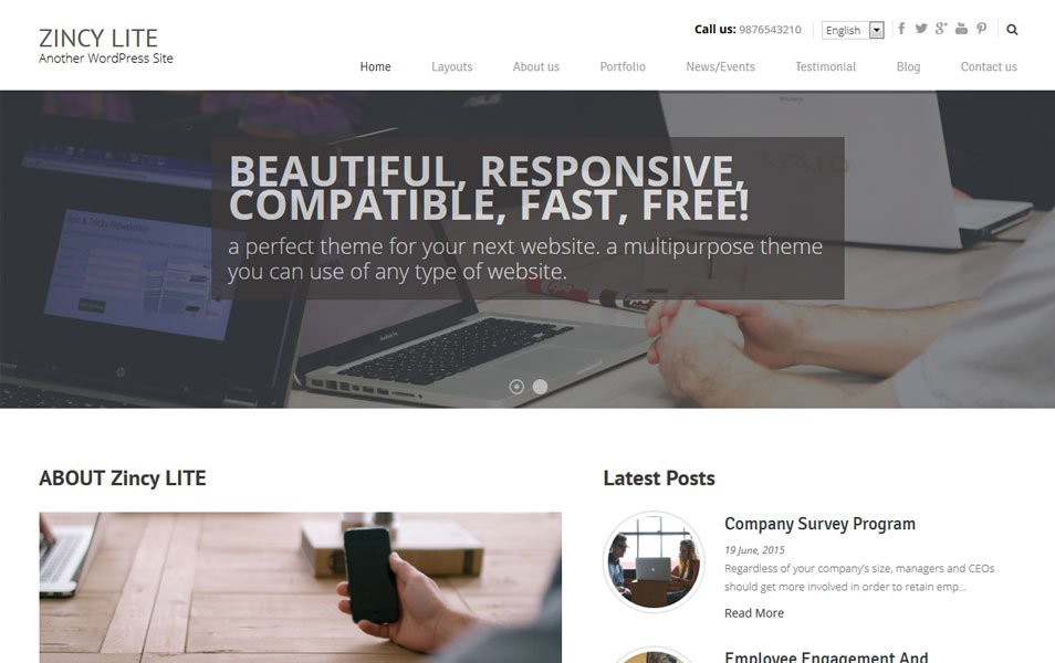 Zincy-Lite-Responsive-WordPress-Theme1