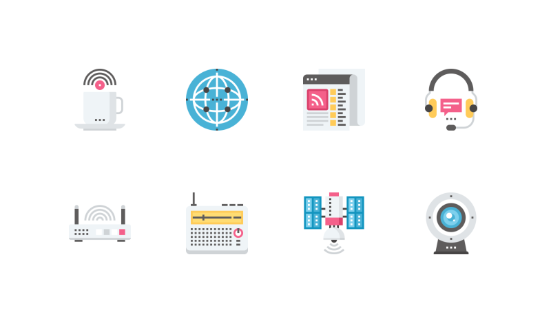 Network and communication 500 icons ai eps svg png communication and connectivity icon pack by maxim basinski ccuart Gallery