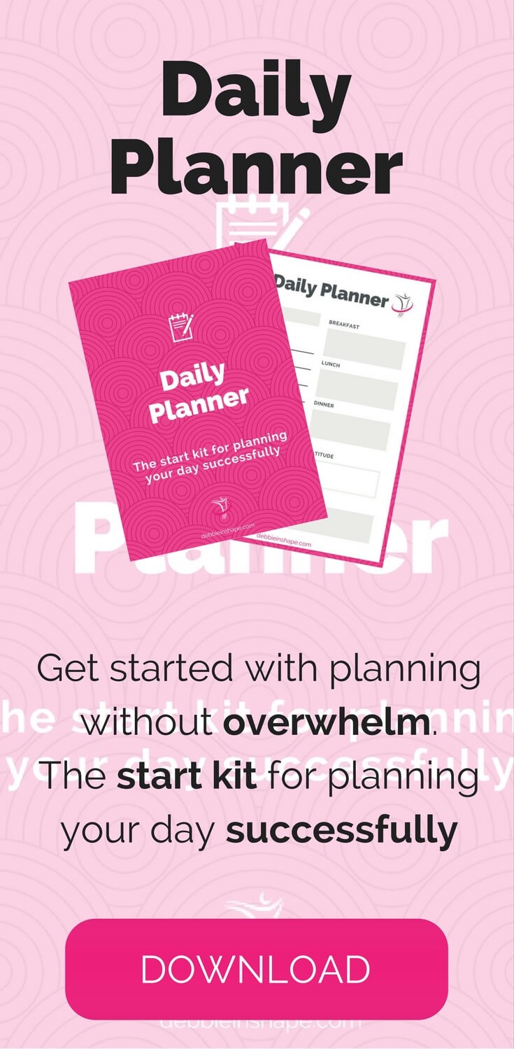 Start planning your day for success right now! Grab your copy of the Daily Planner for free today.