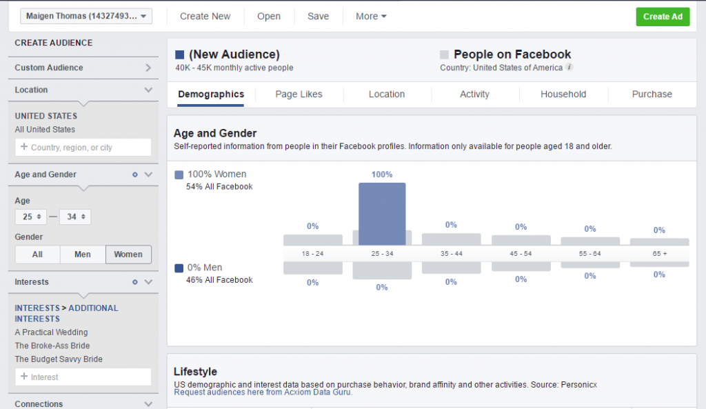 Build a Better Wedding Business - find your ideal clients through Facebook ad targeting
