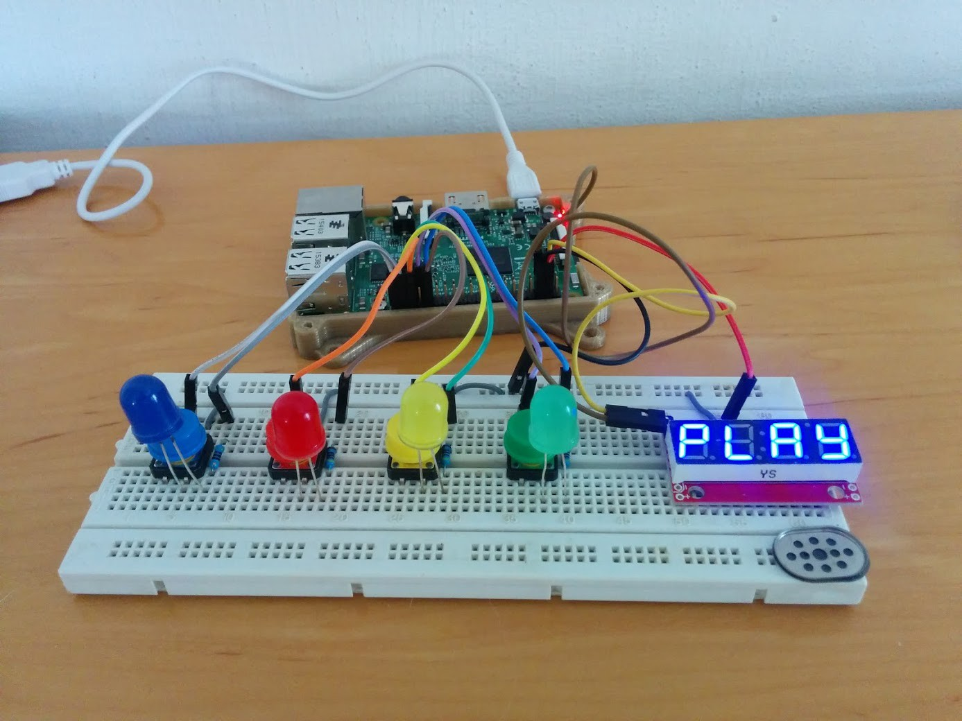 Im A Software Engineer Why Should I Care About Arduino Breadboard Clone Raspberry Pi Connected To Leds Buttons And Display Using