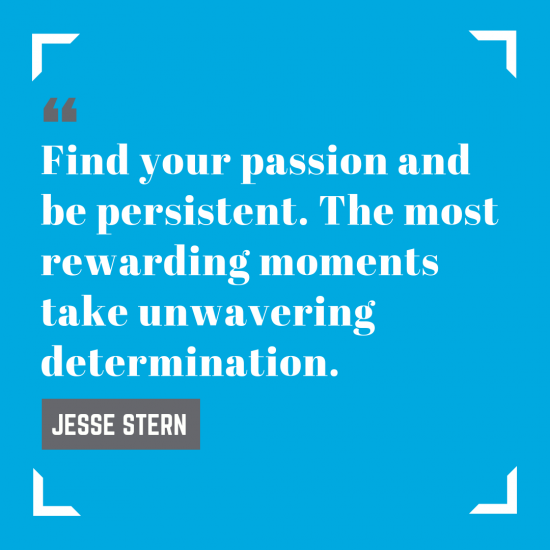 Quote card from Jesse Stern