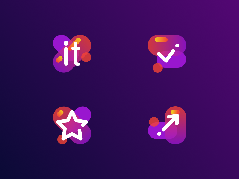 Geek Day icon collection by Alexander Tolstov