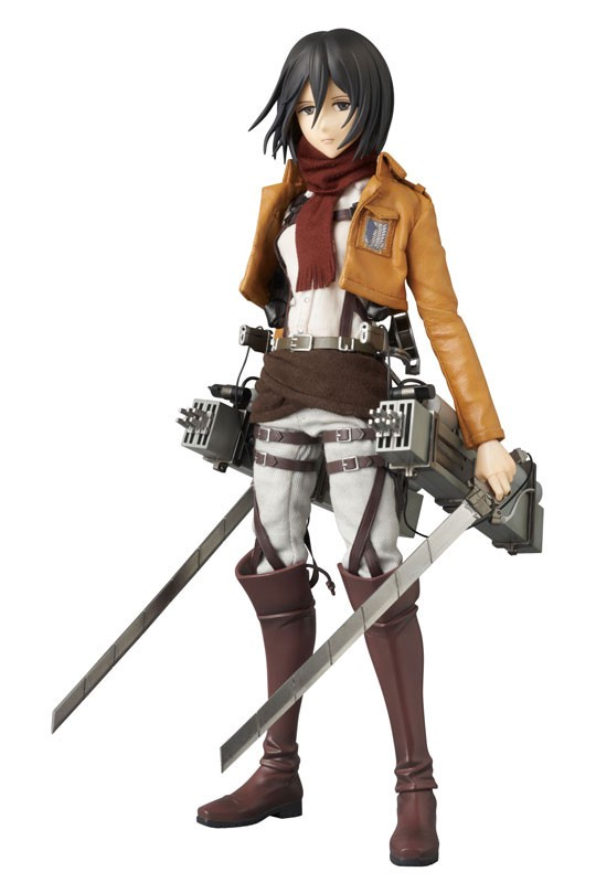 Mikasa Ackerman Real Action Heroes #648 Figure by Medicom Toy