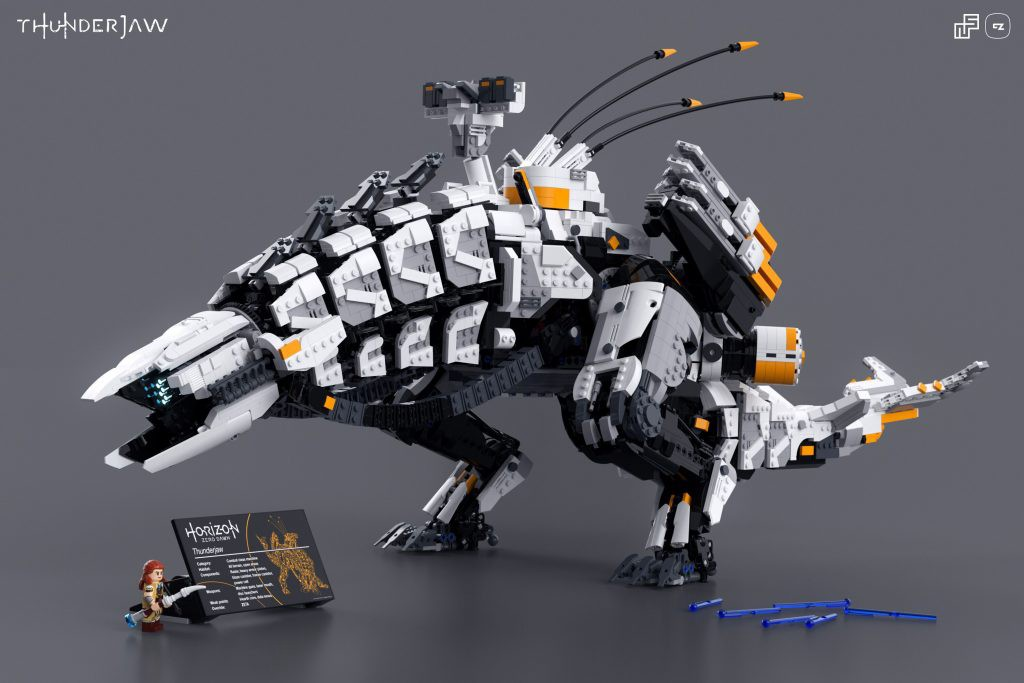 LEGO MOC Thunderjaw - Horizon Zero Dawn by Nicola Stocchi