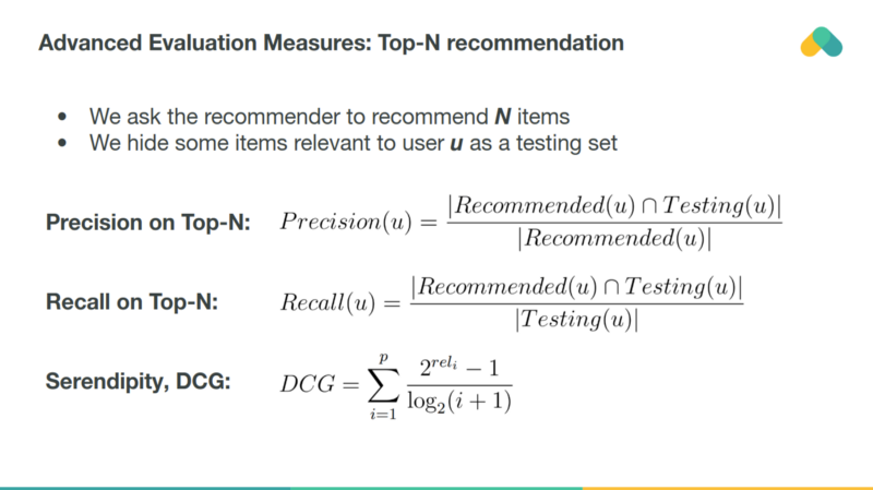 Machine Learning for Recommender systems — Part 1 (algorithms ...