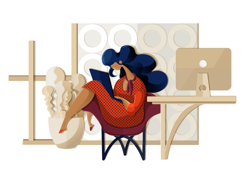 Graphic Design: 24 Fancy Flat Illustrations for Your Inspiration