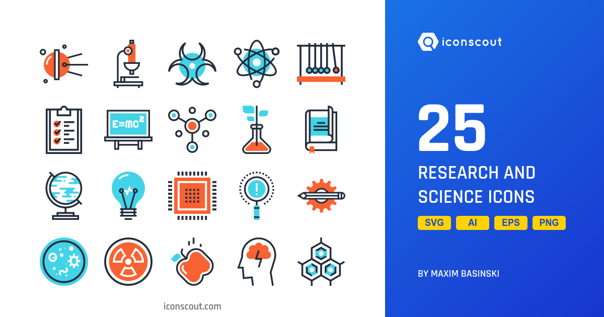 Research And Science icons by Maxim Basinski