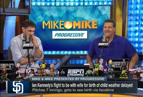 Ian Kennedy joins ESPN's Mike & Mike Radio Show to Discuss FaceTiming Daughter's Birth