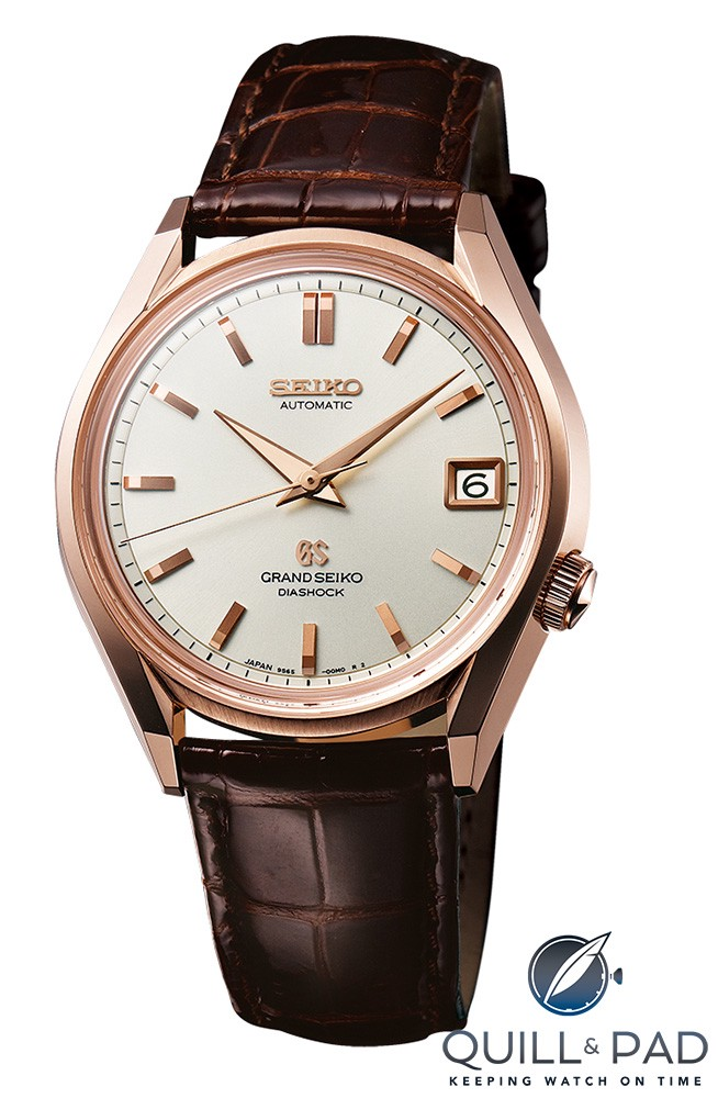 Grand Seiko Automatic in red gold