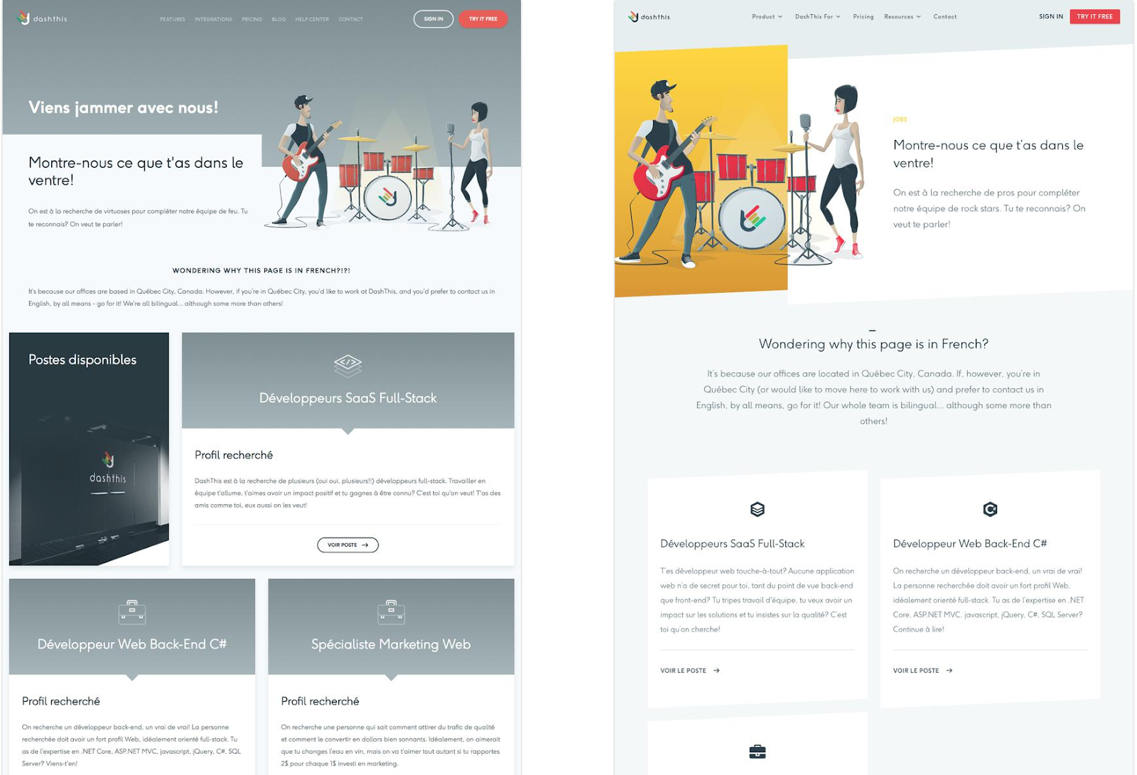 8 examples of hiring pages that highlight culture first