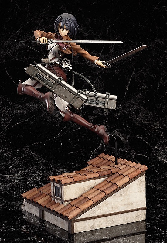 Mikasa Ackerman DX ver. 1:8 Figure by Good Smile Company