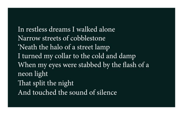 fight the silence for today lyrics