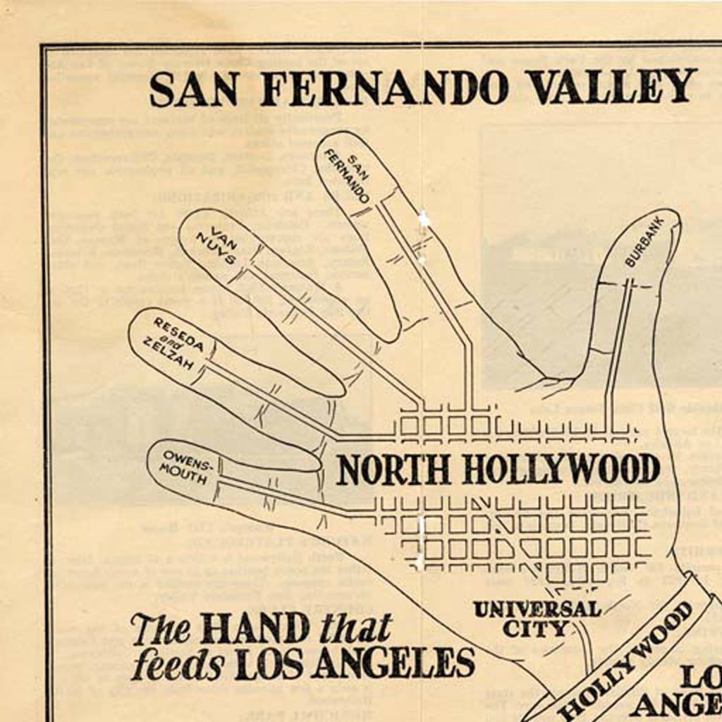 10 Unusual Maps of Los Angeles — The Bold Italic — San Francisco
