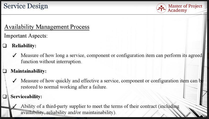 Itil Availability Management Process 3 Key Aspects You Need To Know