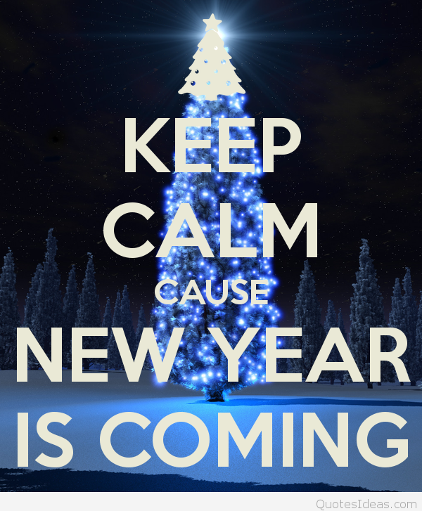 Keeping Christmas All The Year: KEEP CALM CAUSE NEW YEAR IS COMING