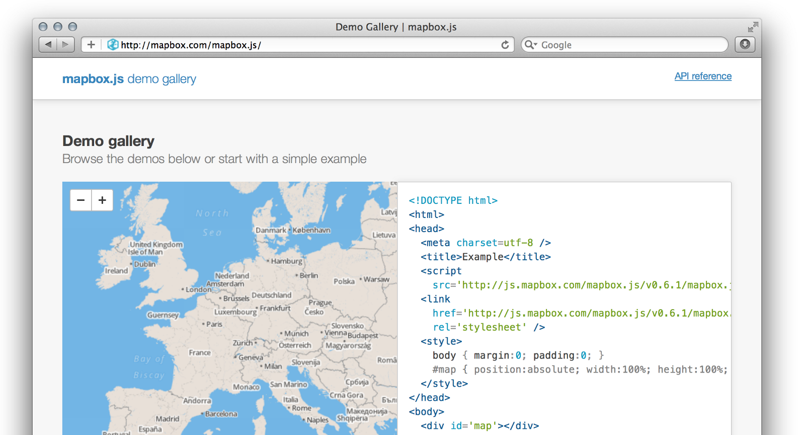 Introducing The Mapbox Javascript Api Points Of Interest