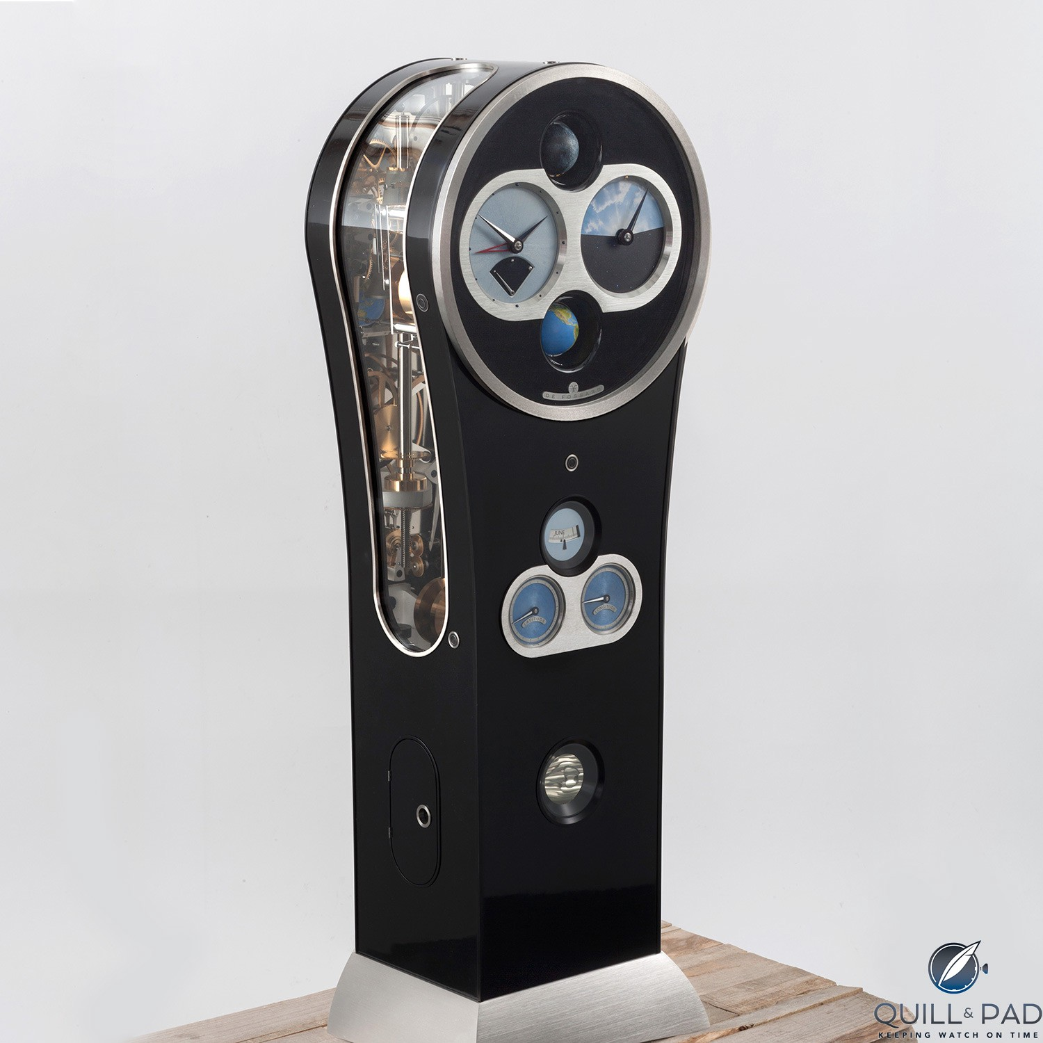 de Fossard Solar Time Clock