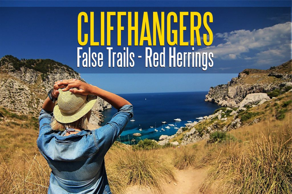 Writing Cliffhangers, Part III: False Trails and Red Herrings
