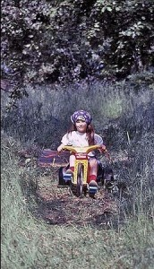 A young Jessica in Placerville, CA