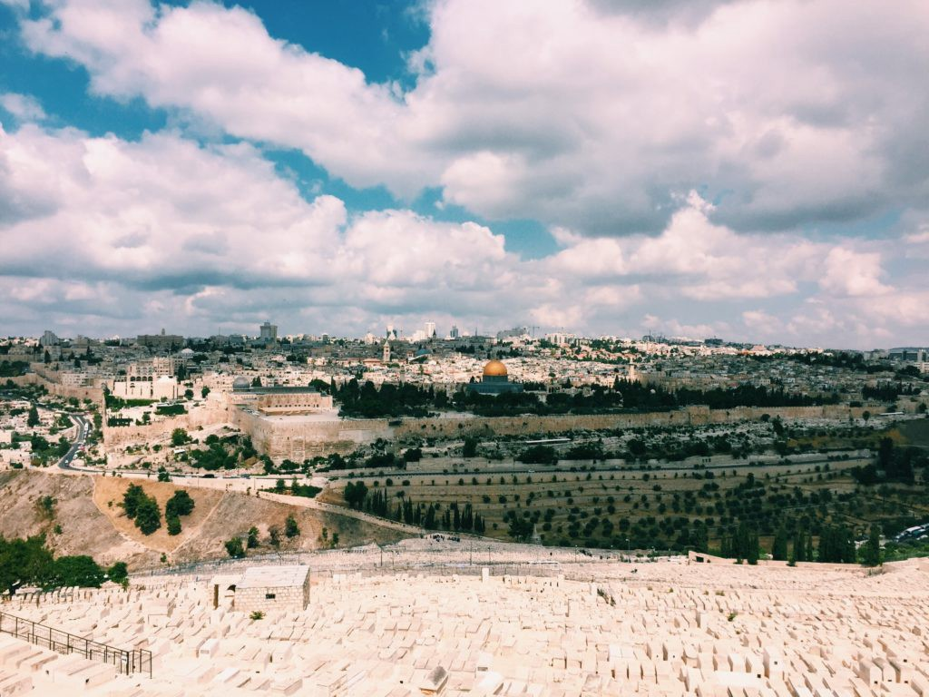View from Mount Olives