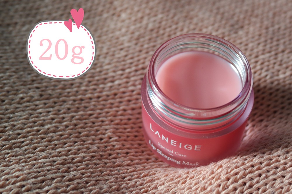 Laneige Lip Sleeping Mask Review - texture
