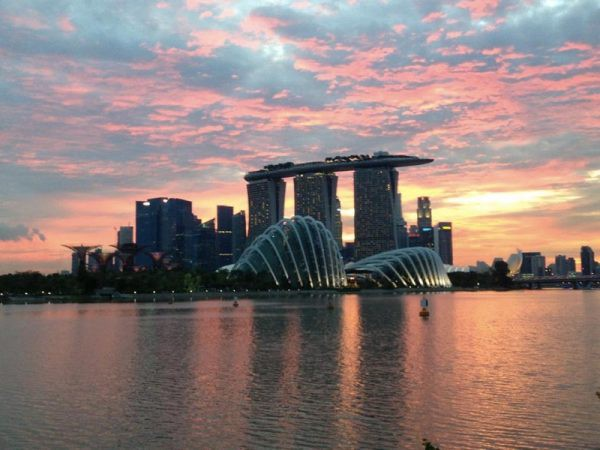 Singapore Bay Photo by Mar from Once in a Lifetime Journey