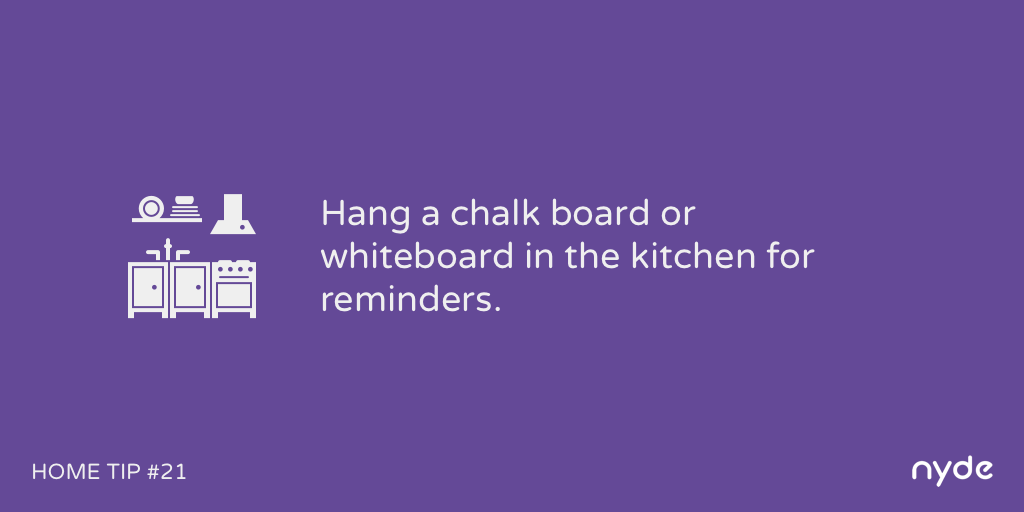 Home Tip #21