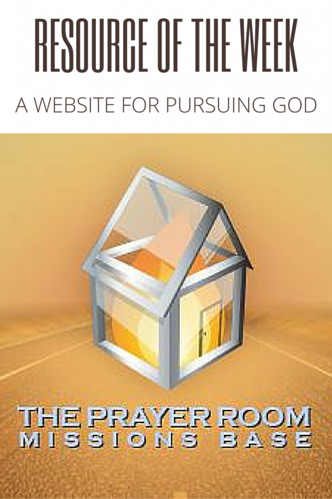 Resource of the Week | The Prayer Room DFW This is a great website for Biblical teaching and having your spirit stirred up to pursue God.