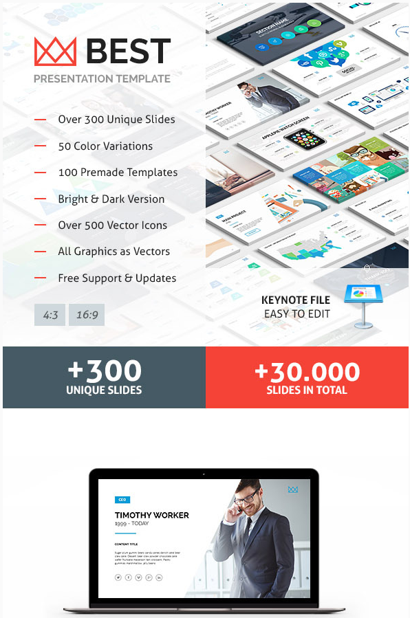 10 best keynote templates best digital themes medium business keynote presentation template best keynote templates for apple fbccfo Image collections