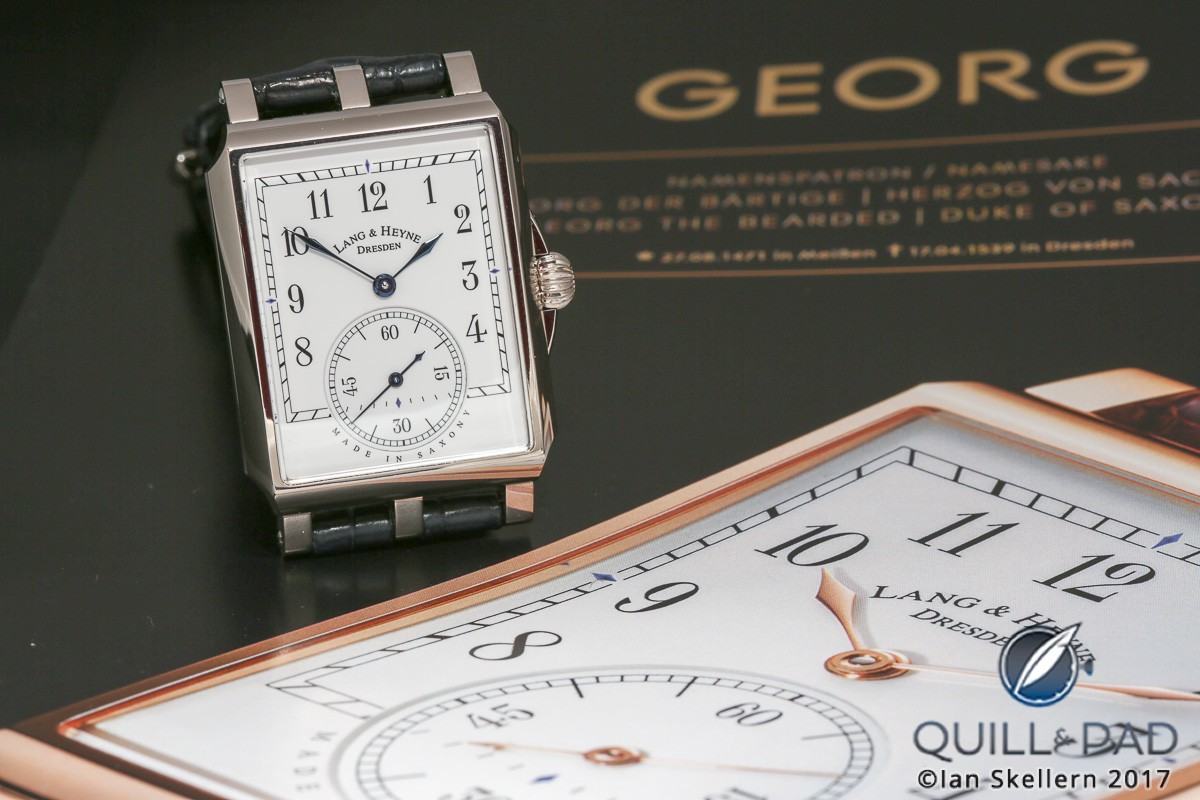 Lang & Heyne Georg in platinum