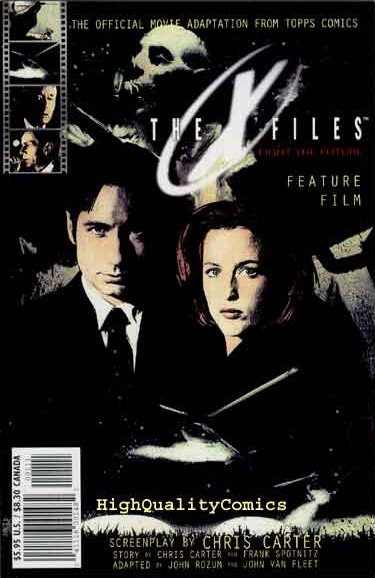 Topps Adapted Nine Episodes Of The Shows First Season Into Comic Form In 1997 As Collected By IDW Over Two Volumes Which Rather Strangely Miss Out This