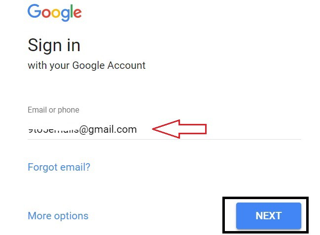 forgot gmail login password