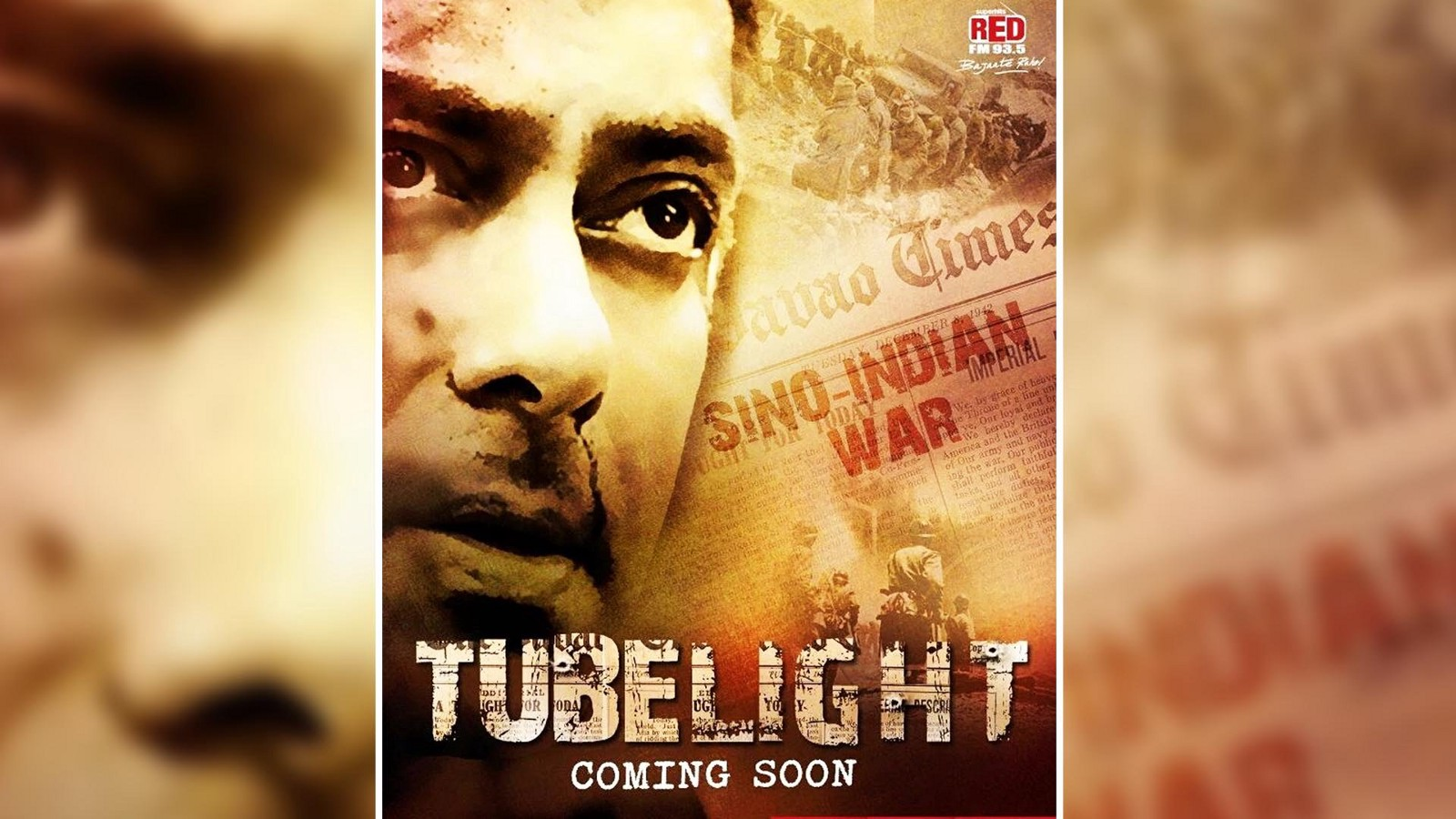 The Teaser Of Tubelight Will Be Unveiled At 9pm Tomorrow