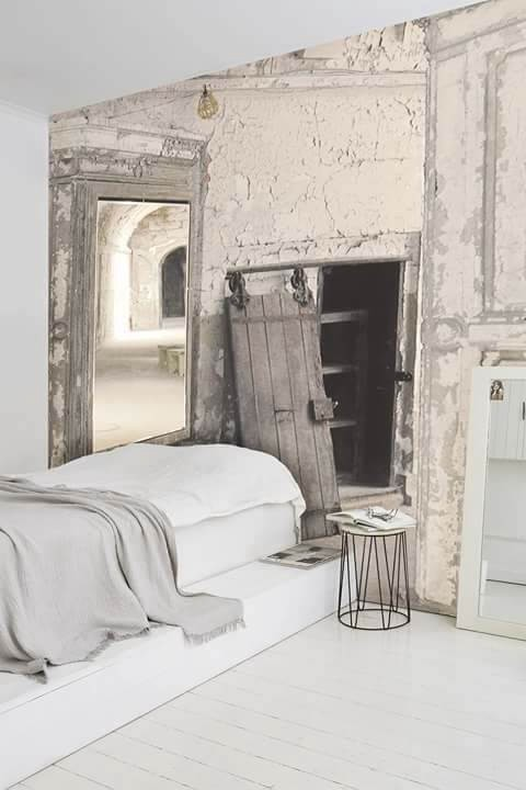 le papier peint joue les trompe l oeil monmaitrecarre. Black Bedroom Furniture Sets. Home Design Ideas