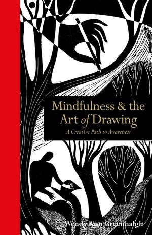 Front cover of book - Mindfulness and the art of drawing