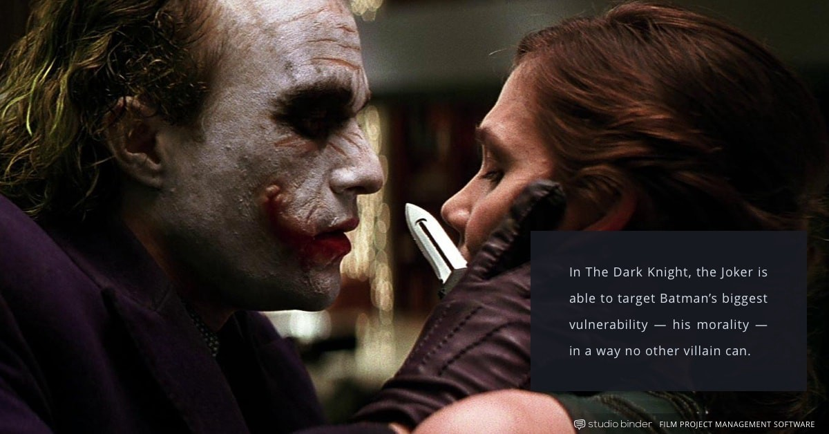 4 Essential Principles for Creating the Ultimate Antagonist – The Dark Knight – Joker and Rachel