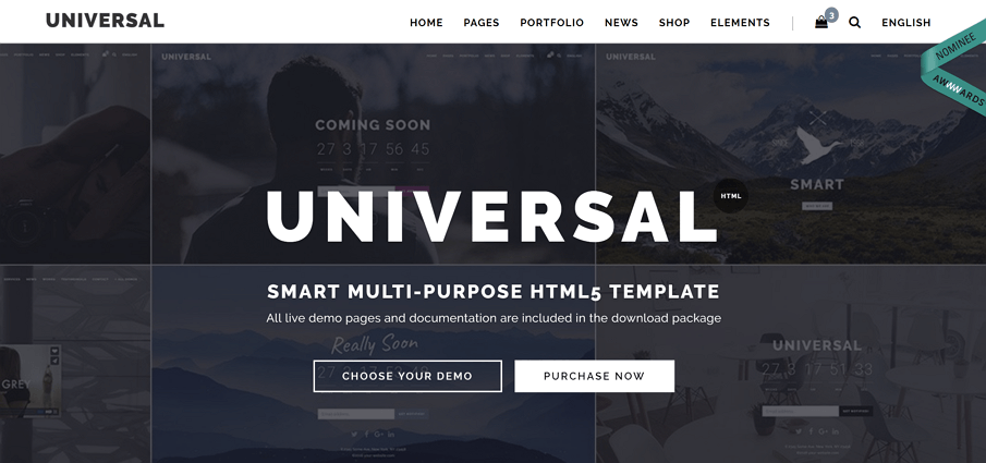 25 best free personal website templates and resources universal is a modern multipurpose minimalistic and easy to use lightweight and fast loading multi and one page html template for building a simple and maxwellsz