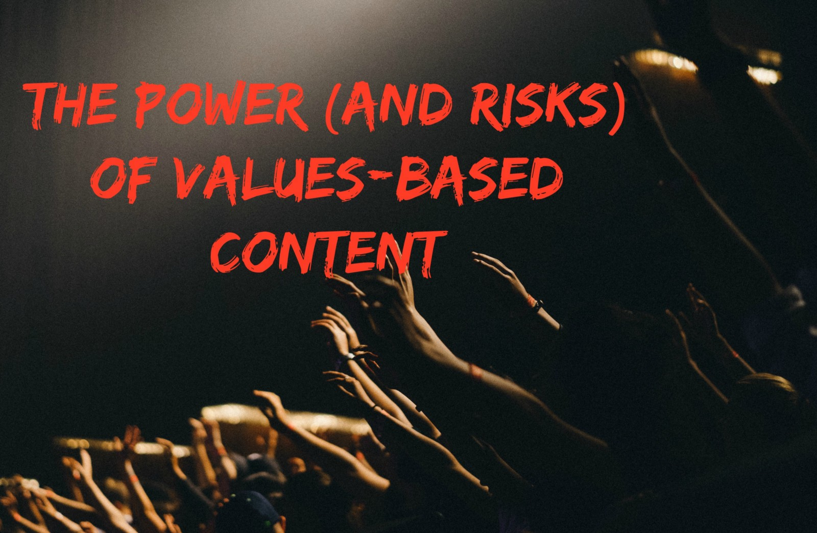 values-based content