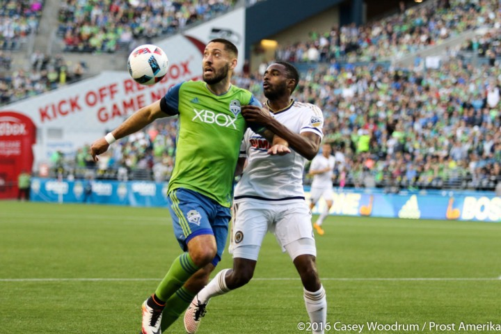 A surging Philadelphia Union entered CenturyLink Field tied for first in the eastern conference. Propelled by a resolute backline and facing an anemic Sounders attack this looked to be a tough matched up for Seattle.