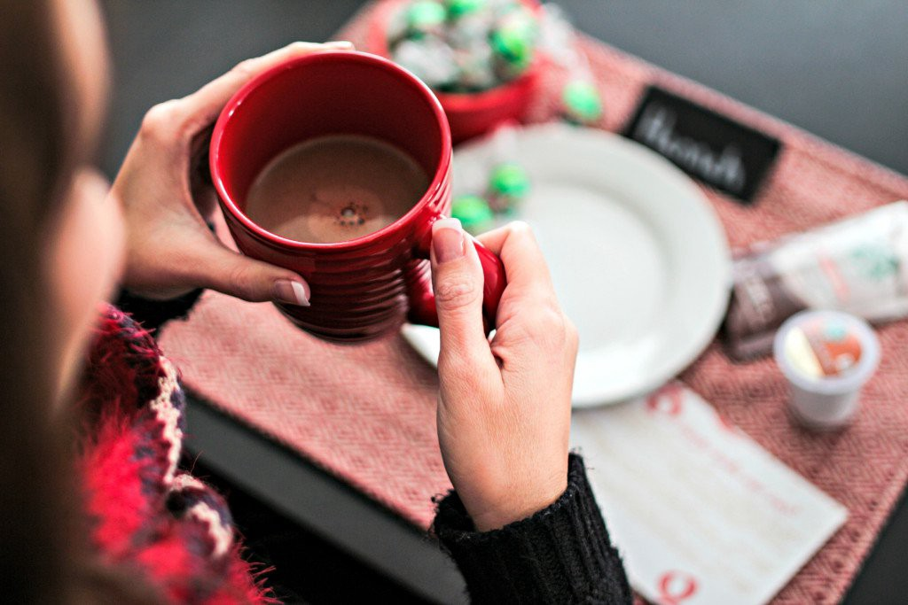 Girls Night In Party Ideas - get the girls together and indulge with some decadent (yet affordable) coffee and chocolate. If you're like me, it's been too long since you've just sat and caught up with what's happening in your girlfriends' lives. 'Tis the season for friends.