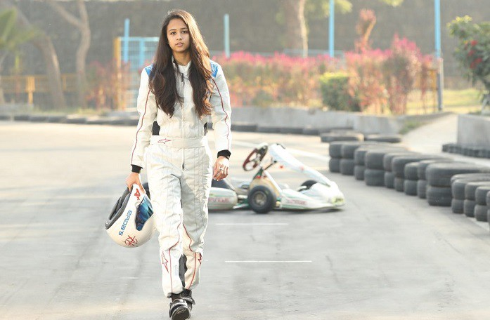 Mira Erda The 16 Year Old Girl Who Represents India In International Motor Sport Tournaments