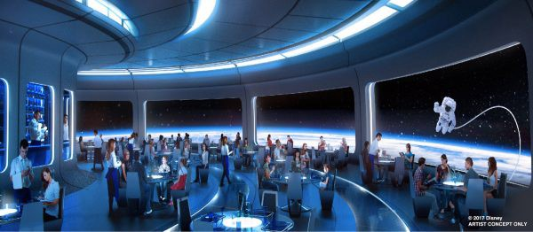 Space Restaurant - © Disney