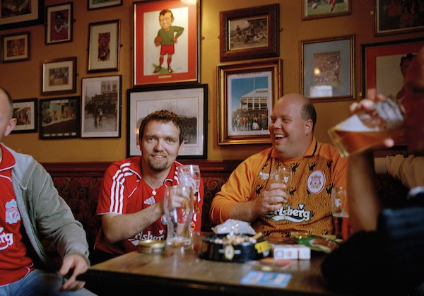 Liverpool Football Club 2007. Originally Commissioned by Libération (France) 22 May 2007. Article 'Culture Club' on Liverpool Football Culture by Christian Losson. Picture Editor Clémentine Mercier.