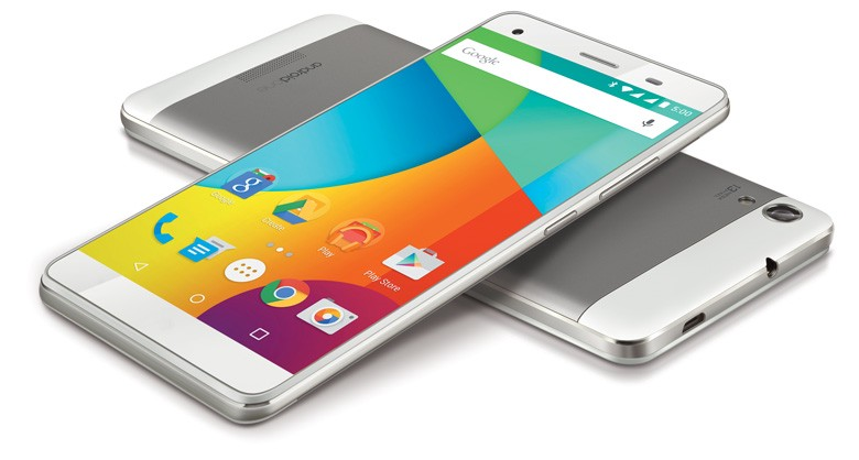 An Android One smartphone