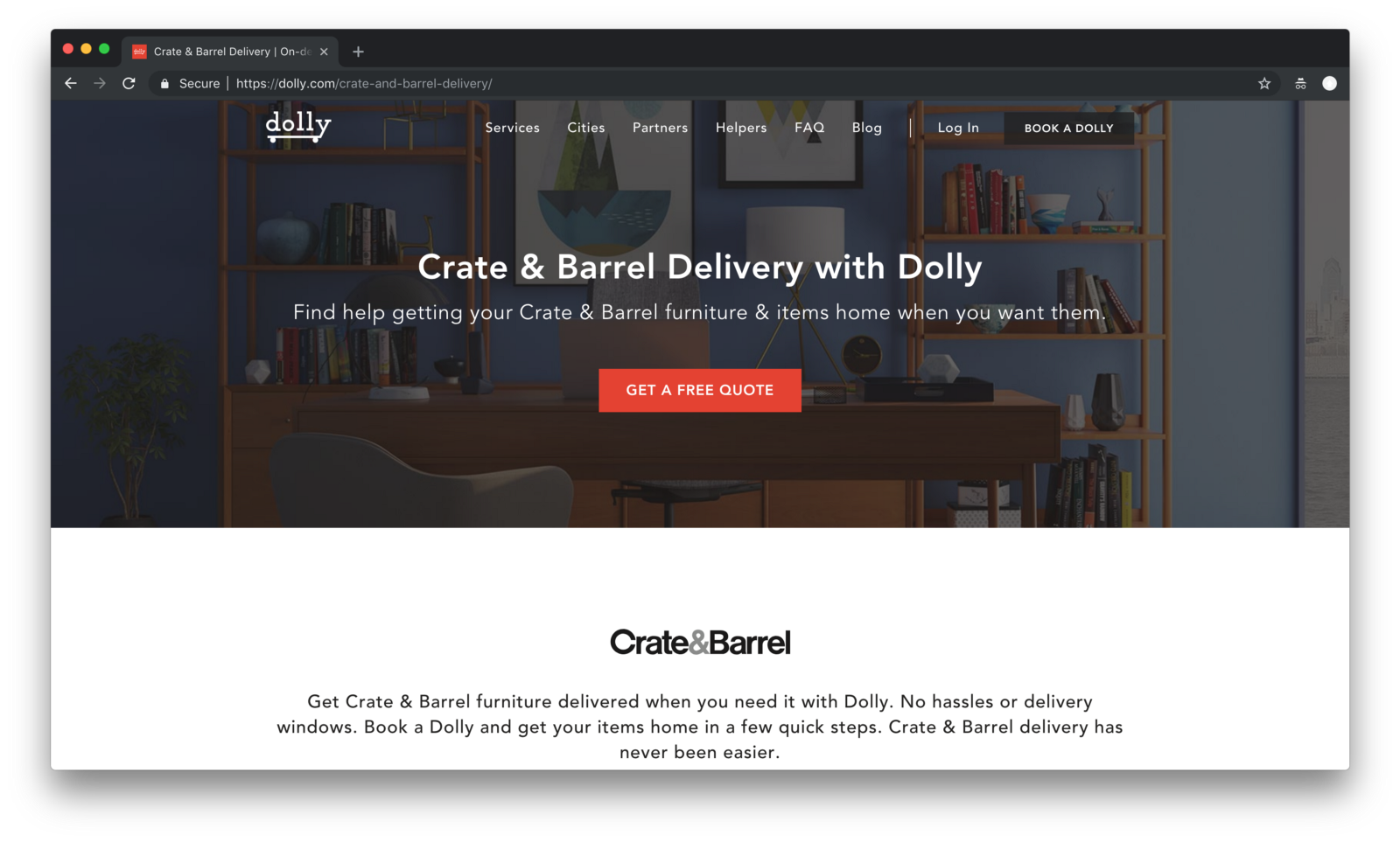 crate-and-barrel-black-friday-ecommerce
