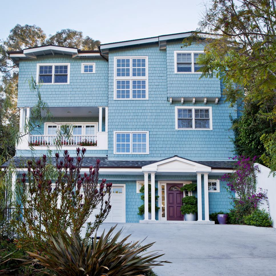 Long Lasting Exterior House Paint Colors Ideas: 5 Useful Points To Remember When Choosing The Right