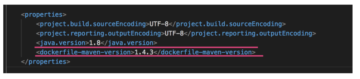 5 dockerfile-maven-version