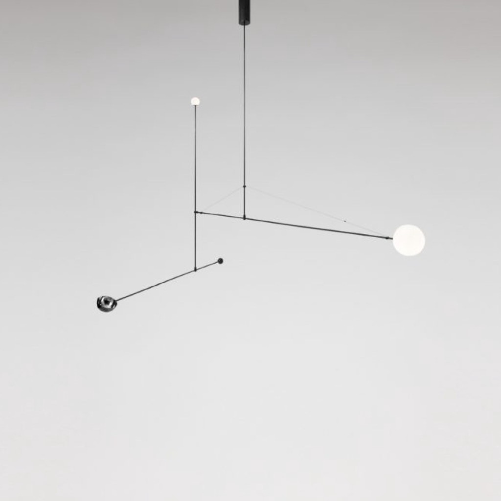 Mobile Chandelier 1 2008 by Michael Anastassiades