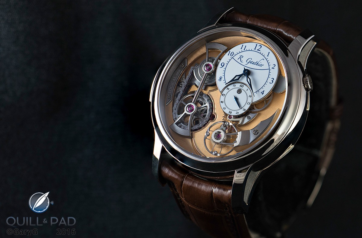 Logical One by Romain Gauthier in white gold